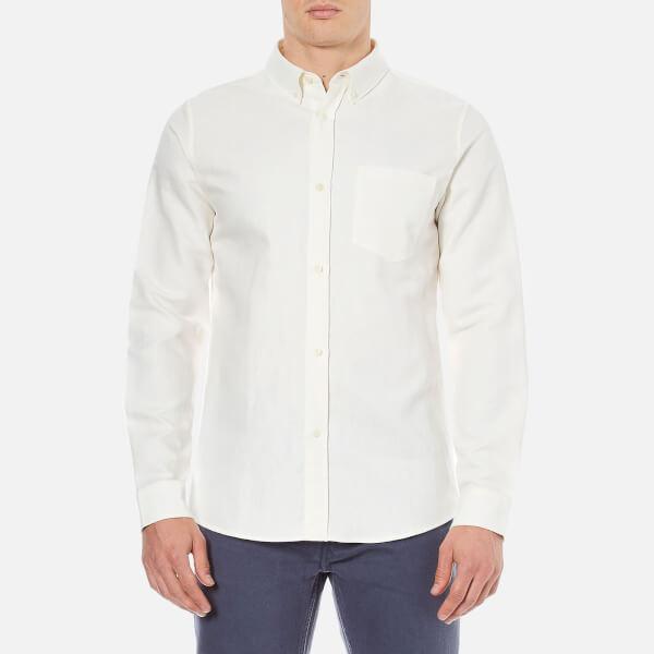 A.P.C. Men's Surchemise Bruce Long Sleeved Shirt - White