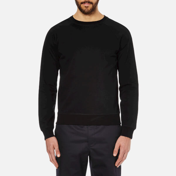 A.P.C. Men's Novak Long Sleeved Sweatshirt - Black