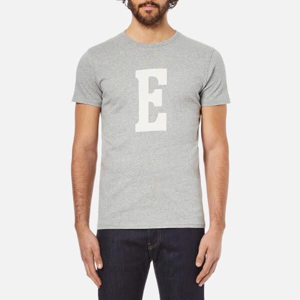 Edwin Men's Logo Type 3 T-Shirt - Grey Marl