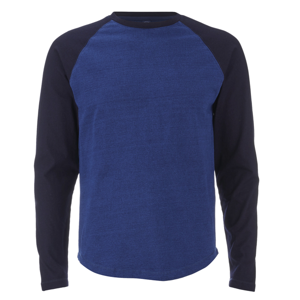 Edwin Men's Huey Long Sleeve Jersey Sweatshirt - Indigo