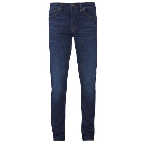 Edwin Men's ED80 Slim Tapered Denim Jeans - Dark Trip Used