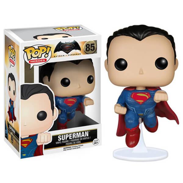 Figurine Pop! Superman DC Comics Batman v Superman : L'Aube de la justice