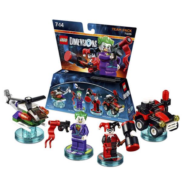 LEGO Dimensions DC Joker Harley Team Pack
