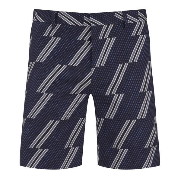 MSGM Men's Print Shorts - Blue