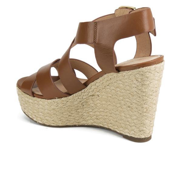 dac597d87e MICHAEL MICHAEL KORS Women's Celia Mid Wedge Sandals - Luggage: Image 4