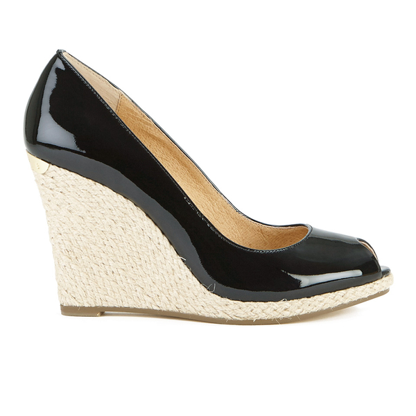 MICHAEL MICHAEL KORS Women's Keegan Wedge Court Shoes - Black