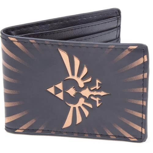 Legend of Zelda Gold Link Logo Wallet