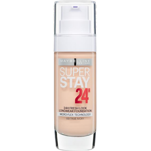 Maybelline New York Super Stay 24 Hour Foundation - 003 True Ivory