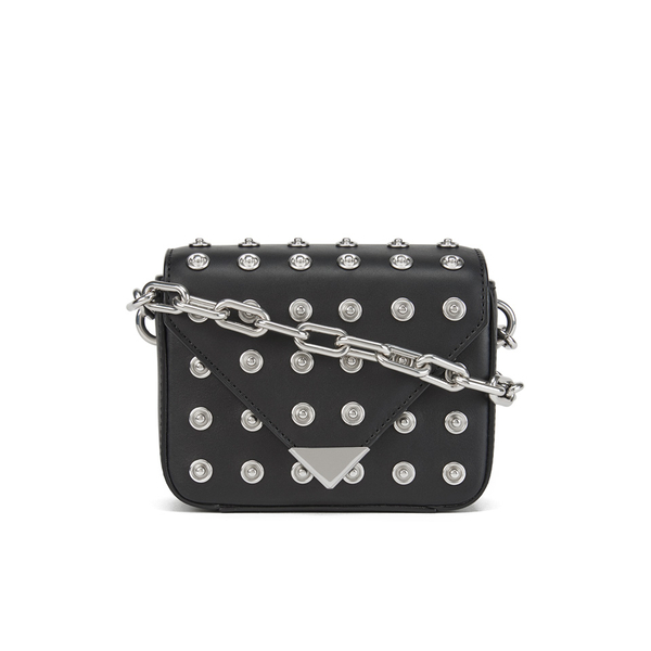 fa3c5bd1417a0 Alexander Wang Women s Prisma Mini Sling Crossbody Bag - Black  Image 1