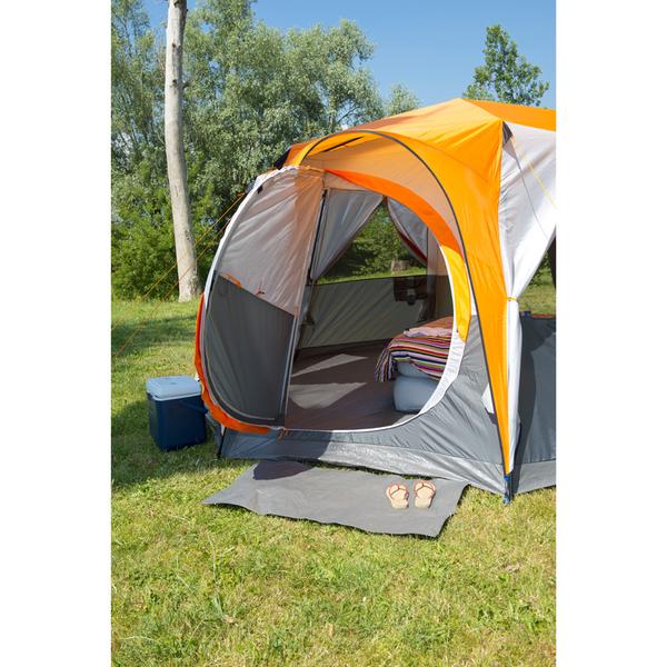 Coleman Cortes Octagon Tent (8 Person) - Grey/Orange Image 5  sc 1 st  zavvi & Coleman Cortes Octagon Tent (8 Person) - Grey/Orange Garden   Zavvi US