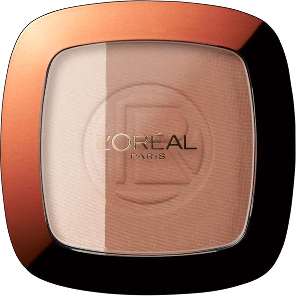 Polvos de sol Glam Bronzer Duo - 102 Brunette Harmony deL'Oréal Paris