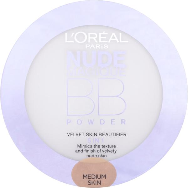 L'Oréal Paris Nude Magique BB Powder - Medium