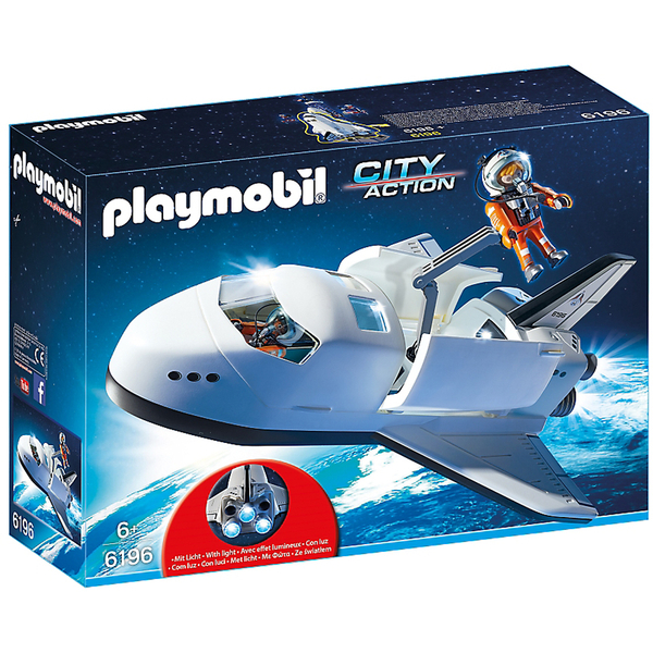 Navette spatiale et spationautes (6196) -Playmobil City Action