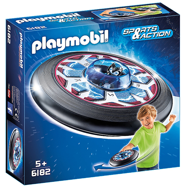 playmobil sports action celestial flying disk with alien 6182 sowia. Black Bedroom Furniture Sets. Home Design Ideas