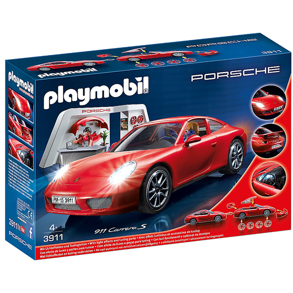 playmobil sports action porsche 911 carrera s 3911. Black Bedroom Furniture Sets. Home Design Ideas