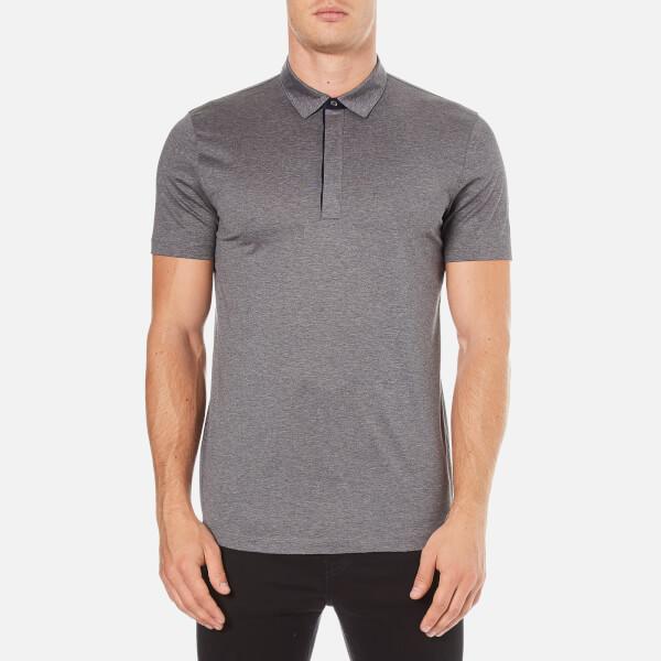 HUGO Men's Dellos Cotton Polo Shirt - Grey