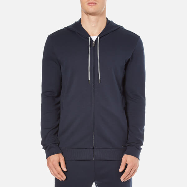 HUGO Men's Dalermo Zipped Hoody - Navy