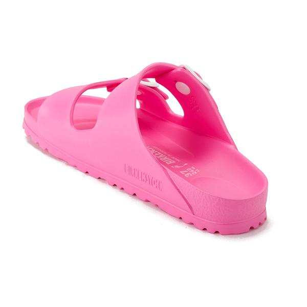 4949c103498 Birkenstock Women s Arizona Slim Fit Eva Double Strap Sandals - Neon Pink   Image 4