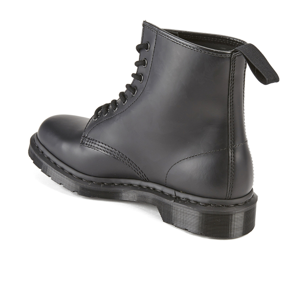 28803f489031 Dr. Martens Women s 1460 Mono Smooth Leather 8-Eye Boots - Black  Image