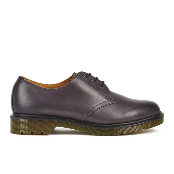Dr. Martens Men's Core 1461 Antique Temperley Leather 3-Eye Derby Shoes -  Charcoal
