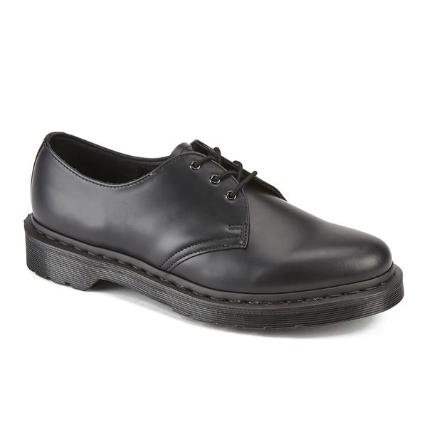 Black Mono 1461 Eye 3 Shoes Dr Martens Smooth Women's Leather OqwEtzz6ax