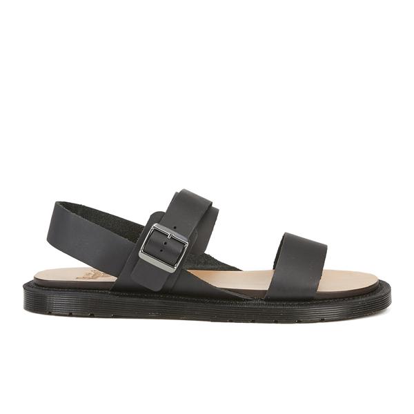 Dr. Martens Men's Halton Kennet 3 Strap Sandals - Black: Image 1