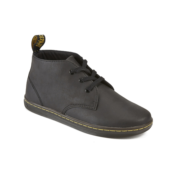 Dr Martens Mens Eclectic Will Padded Collar Desert Boots Black Image 2