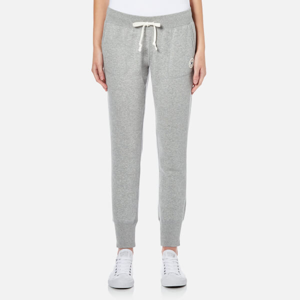 Converse Women s Signature Joggers - Vintage Grey Heather Clothing ... 83e09b096