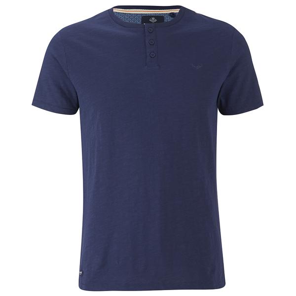 threadbare men 39 s oliver grandad t shirt navy clothing. Black Bedroom Furniture Sets. Home Design Ideas