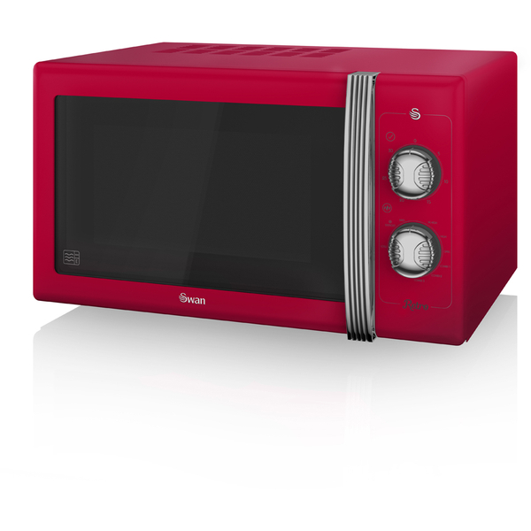 Swan sm22070rn manual microwave red 900w iwoot - Red over the range microwave ...