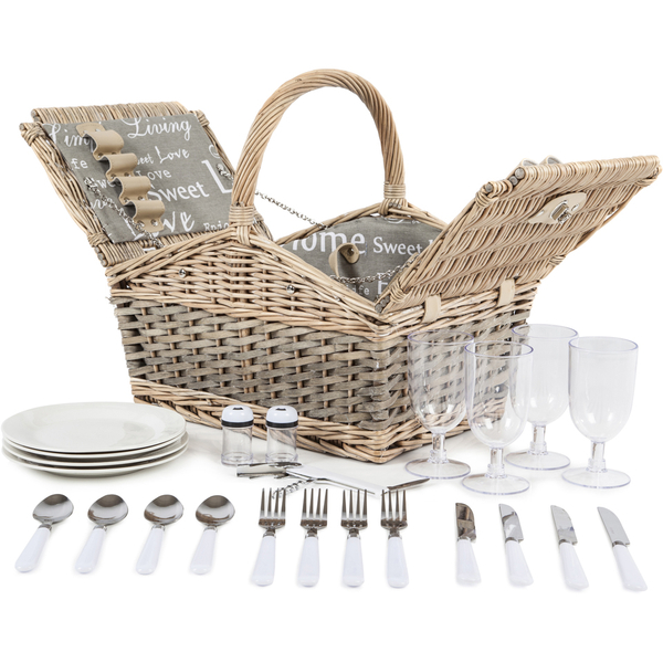 Coast Country Cc10005 4 Person Picnic Hamper Image 2