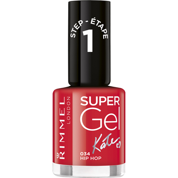 Rimmel Super Gel Nagellack Duo Kit (2 x 12ml) - Hip Hop