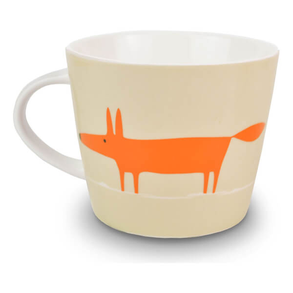 Scion Mr Fox Mug - Neutral/Orange