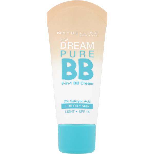 Maybelline Dream Pure BB Cream SPF 15 Light 30 ml