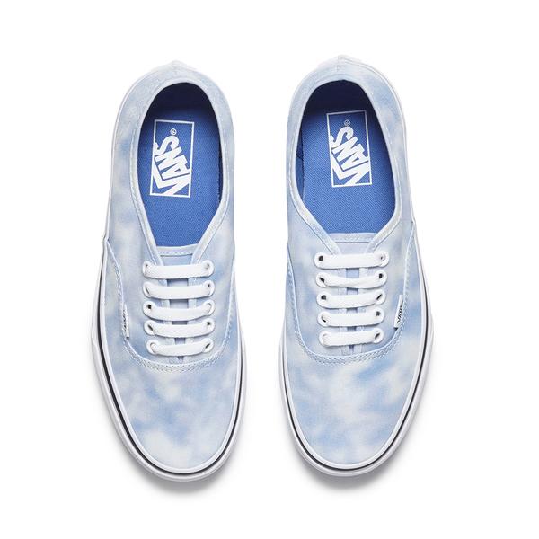 b8140f050f704b Vans Women s Authentic Tie Dye Trainers - Palace Blue  Image 2