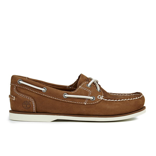 Timberland Women s Classic Boat Shoes - Medium Brown  Image 1 2b22d8686