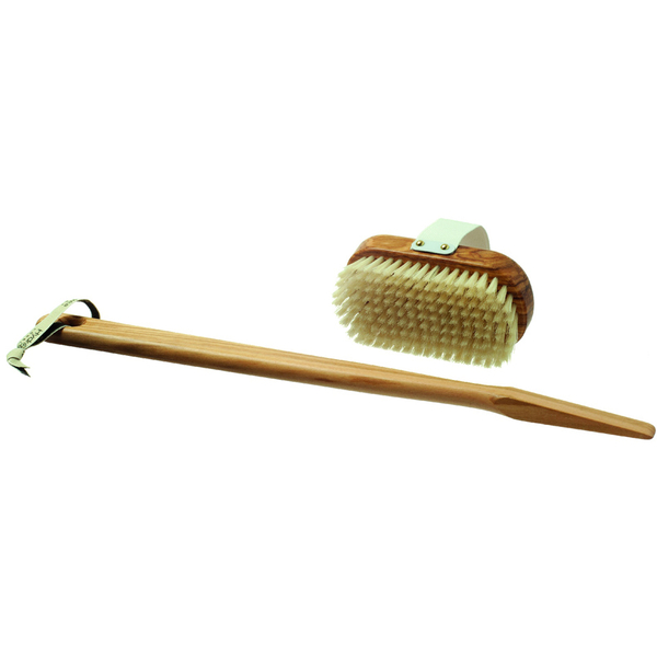 Hydrea London Olive Wood Bath Brush