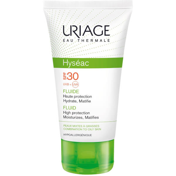 Uriage Hyséac High Protection Emulsion for Combination to Oily Skin SPF30 (50ml)