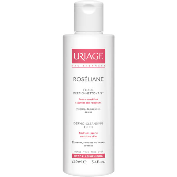 Uriage Roséliane Anti-Redness Dermo-Cleansing Fluid (250ml)