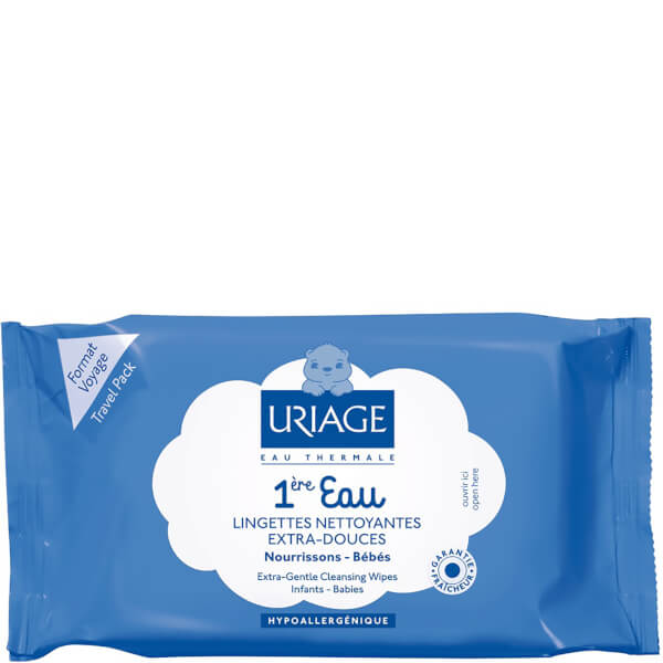 Uriage 1ère Eau Cleansing Wipes (25-pakning)