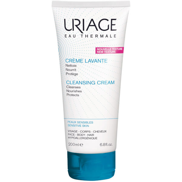 Uriage Soap Free Cleansing Cream for Face, Body and Scalp (200 ml)