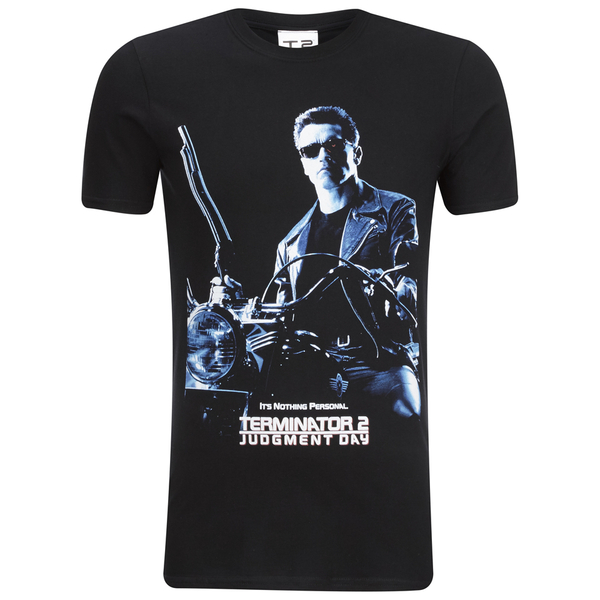 T-Shirt Homme Terminator 2 Judgment Day - Noir