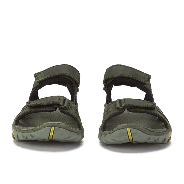 5e1c193548f9 Merrell Men s All Out Blaze Sieve Convertible Sandals - Olive Sports ...