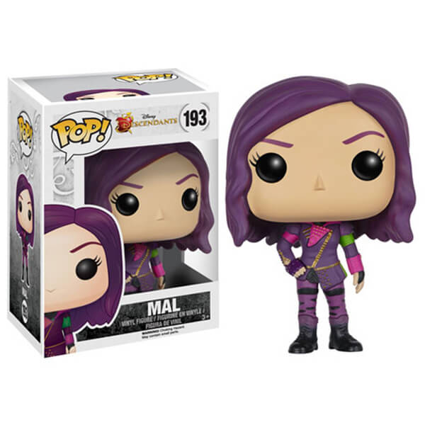 Figurine Pop! Vinyl Disney Descendants Mal