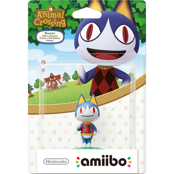 Rover amiibo (Animal Crossing Collection)