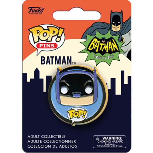 DC Comics Classic 1966 Batman Pop! Pin