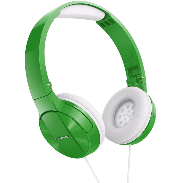 Pioneer SE-MJ503 Foldable DJ Style Headphones - Green
