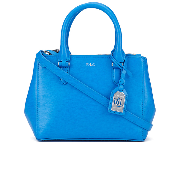 2ea4ffd08c3 Lauren Ralph Lauren Women s Mini Double Zipper Satchel Bag - Cyan  Image 1