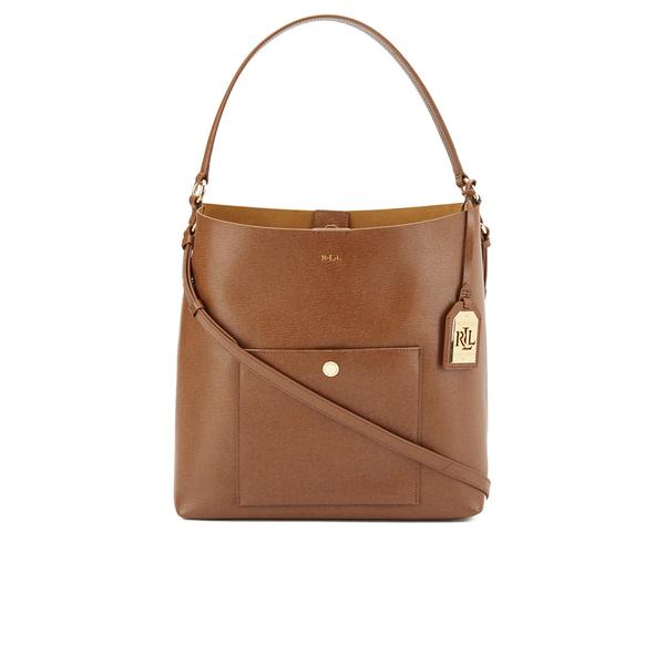 Lauren Ralph Lauren Women s Pocket Hobo Bag - Lauren Tan  Image 1 c4571e6ff60f6