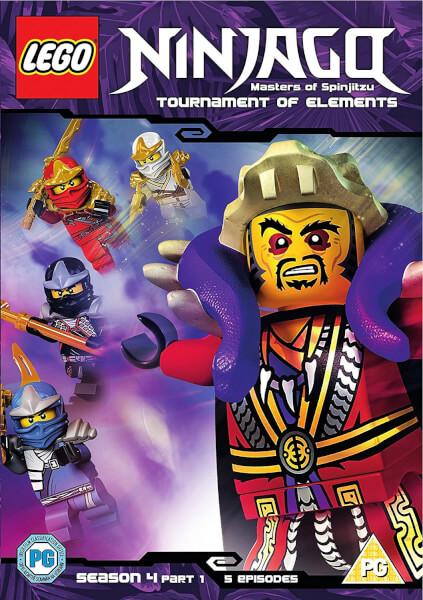 Lego Ninjago - Series 4: Volume 1 DVD | Zavvi